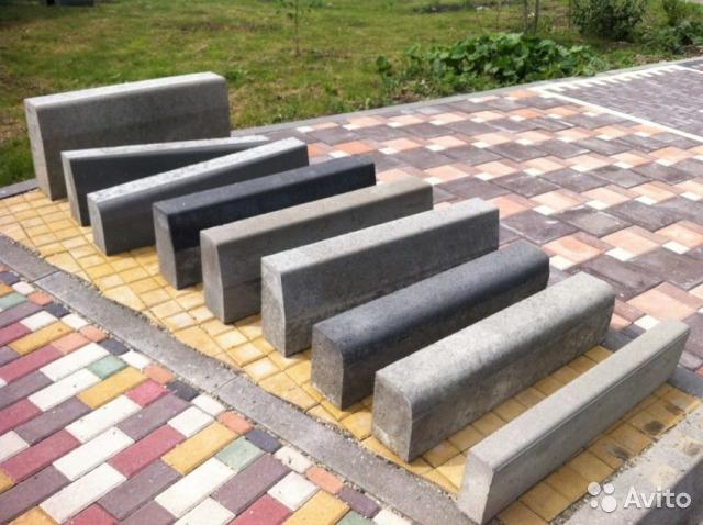 Основные виды бордюров для тротуарной плитки